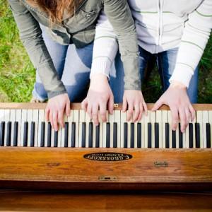 Musikalisches Verlobungsshooting von Benni Janzen Fotografie