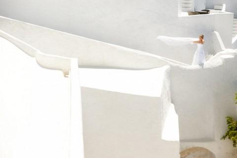Santorin After-Wedding-Love von Andrea Kuehnis Photography