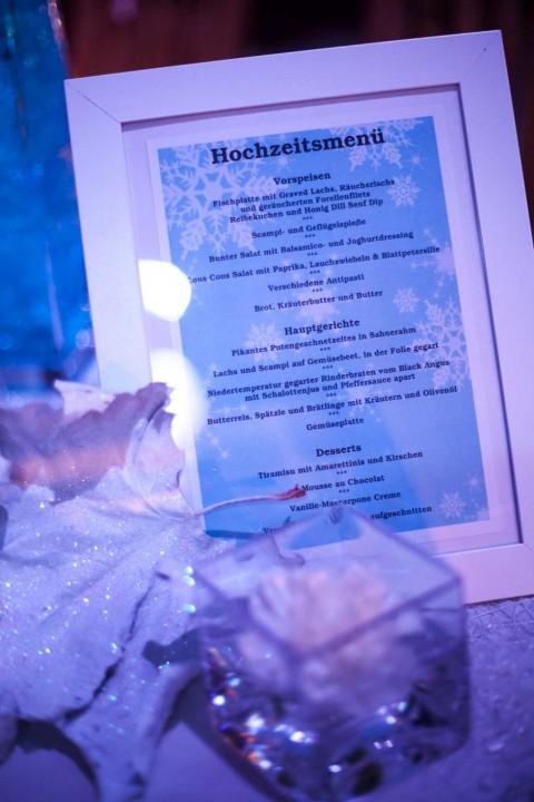 Eishochzeit in der Kommandeursburg von Nicole Mertens
