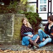 Retro Pärchen-Fotoshooting auf dem Lande von Antje Egbert