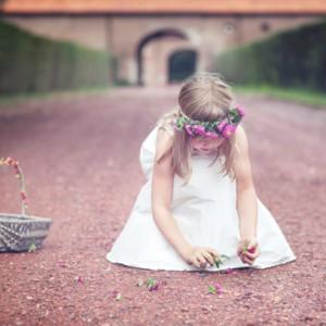 Hübsche Blumenmädchen Kleider aus dem Hause noni
