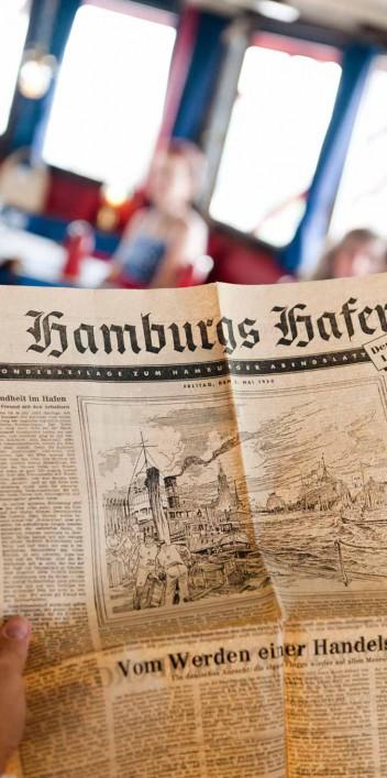 Hamburger Retro-Hochzeit von Linda Müller Fotografie