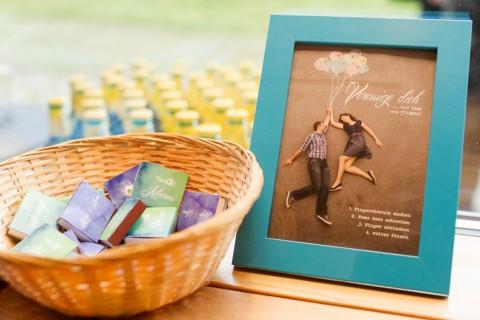 Pfauenfedern-inspirierte Hochzeit von Nina Hintringer Photography