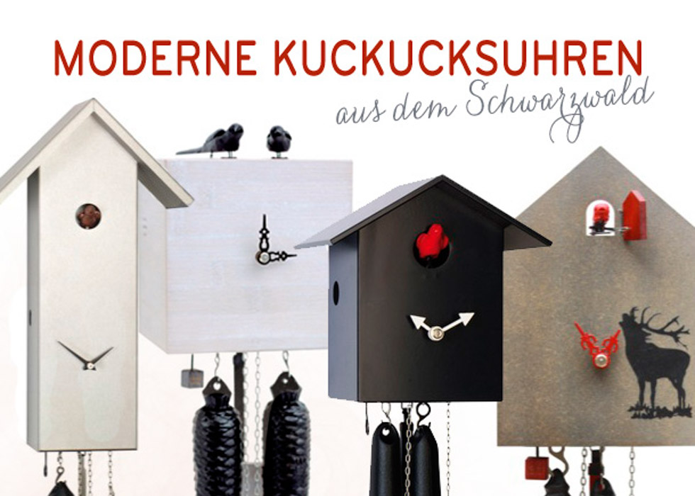 kuckucksuhren als ausgefallenes hochzeitsgeschenk hochzeitswahn sei inspiriert. Black Bedroom Furniture Sets. Home Design Ideas