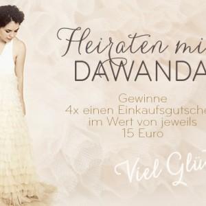 DaWanda's Hochzeitswochen und wir verlosen vier Einkaufsgutscheine
