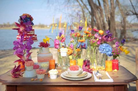 Knallig Bunte Hochzeitsinspiration von Tali Photography