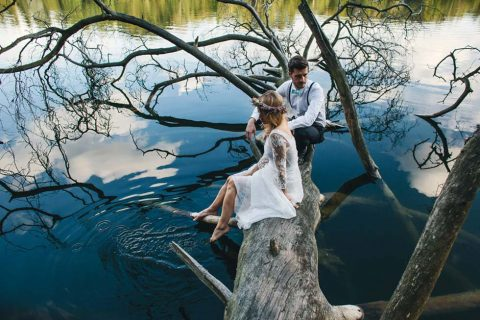 Verführerische Romantik am See von Paul liebt Paula