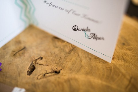 Sommerliche Hochzeitspapeterie von MarryMe Design