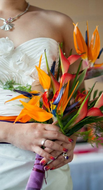 """""""Color Your Day"""" eine asiatisch inspirierte Hochzeitsinspiration"""