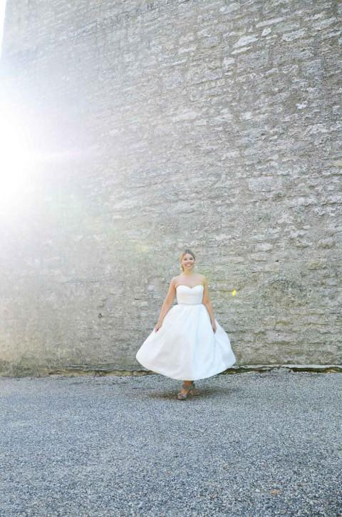 Retro-Schickes Hochzeitsfest auf Schloss Aschhausen