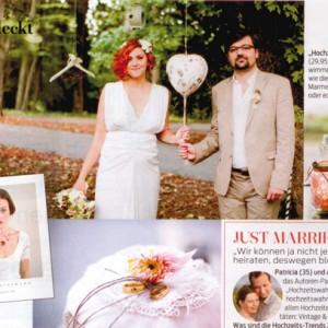 """Hochzeitswahn in der """"FÜR SIE"""" und wir danken euch mit einer spontanen Buchverlosung"""