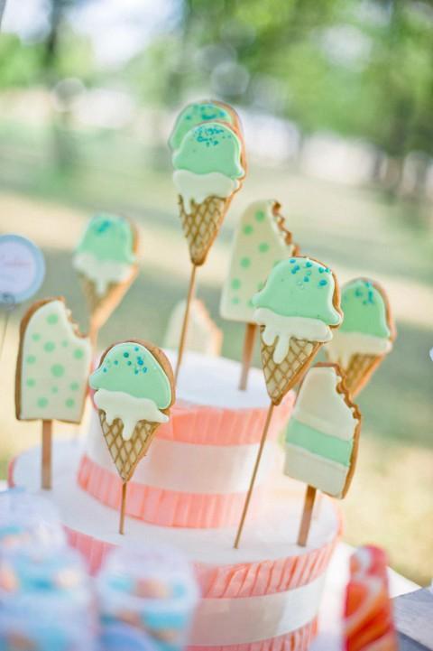 Pastellfarbene Candybar Inspiration