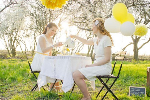 Sonnengelbe Hochzeitsinspiration von Almut Buchwitz Fotografie