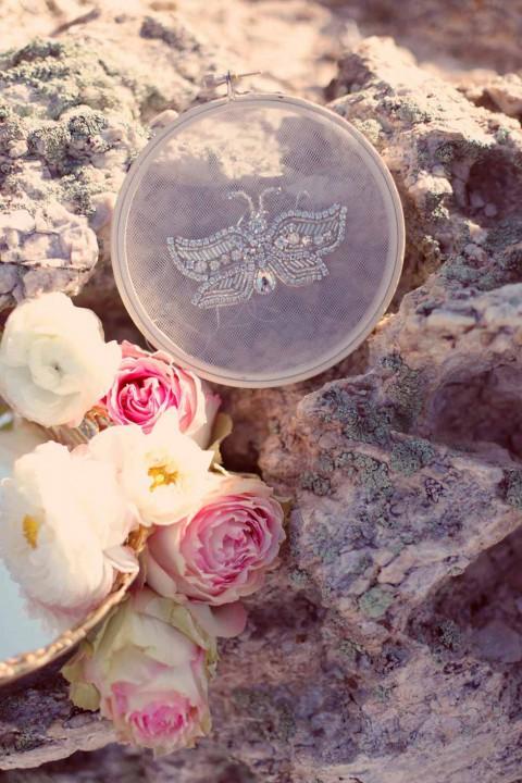 Atemberaubender Brauthaarschmuck von Lacielle Roselle