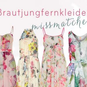 Inspirationssonntag: Brautjungfernkleider missmatched?