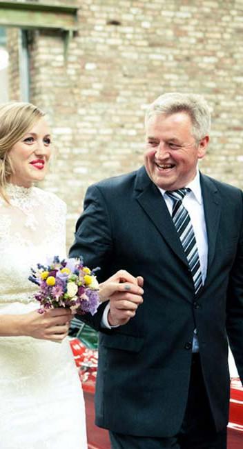 Romantische Kölner Hochzeit von Tali Hochzeitsfotografie