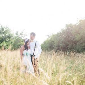 Sommerliches Hochzeitsfarbthema von Liebelei Fotografie