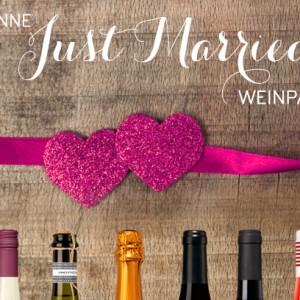 """Inspirationssonntag: Gewinne ein """"Just Married"""" Weinpaket"""