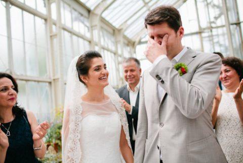 Hochzeit im Botanischen Garten von Hochzeitsbildergeschichten