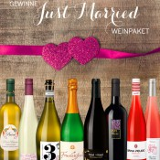 "Gewinne ein ""Just Married"" Weinpaket"