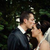 Lisa & Christian's Chevron inspirierte Hochzeit