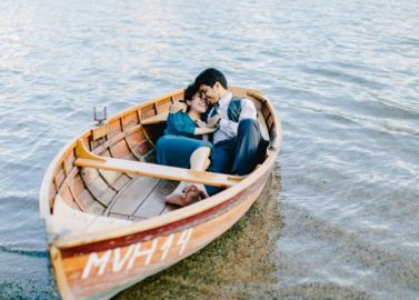 Romantische Love-Session am See