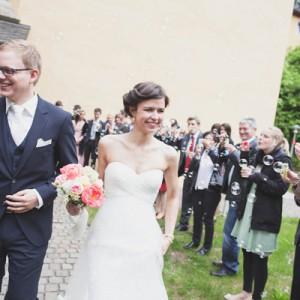 Idyllische Bauernhof Hochzeit von Lebendige Fotografie