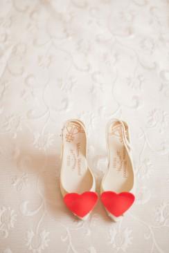 Hübsch dekorierte Hochzeit von Peter & Veronika