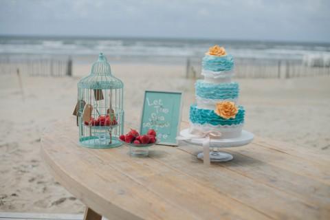 Bohemian Hochzeitsinspiration im Hauch von Tiffany