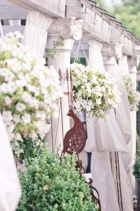 Fliederfarbene Hochzeit in der Alten Gärtnerei