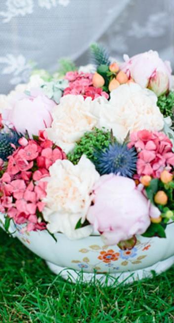 Bildschöne Gartenhochzeitsinspiration von Ab unter die Haube und Julia Winkler
