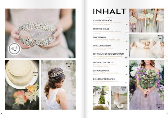 Inspirationssonntag: Hochzeitsguide - ein E-Mag zum Verlieben
