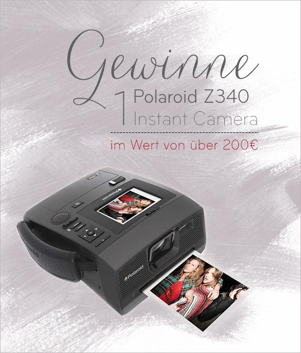 Gewinne eine Z340 Polaroid Kamera