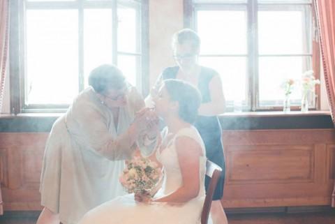 Wunderschöne vintage Hochzeit im Schloss Virnsberg