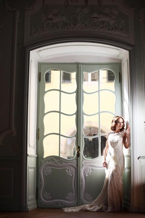 Eine vintage Hochzeitsinspiration mit einem Hauch Glamour von emotions & events und Doreen Kühr Fotografie