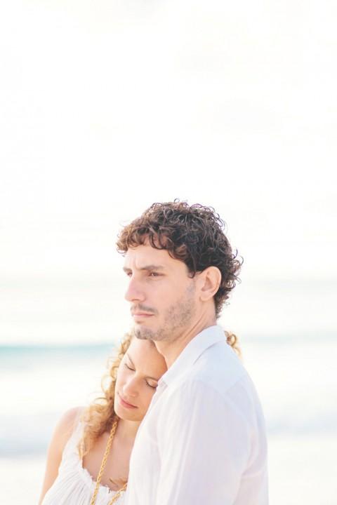 Am Strand von Mexico von Studio A+Q