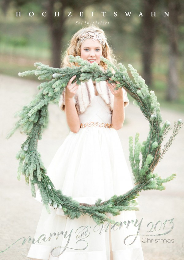 Hochzeitswahn - marry and merry Christmas 2013 online magazin Cover