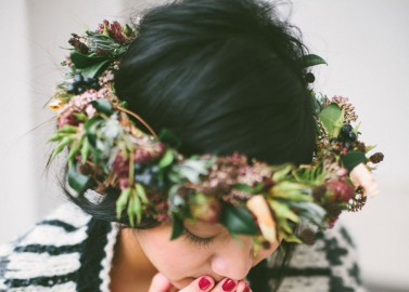 """Helena Harfst Couture """"Indian Winter Greetings"""" von Lea Bremicker Photography"""