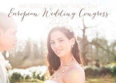 Wir verlosen Tickets zum European Wedding Congress 2014