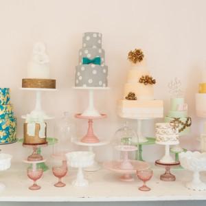 Inspirationssonntag: Hochzeitstorten in Perfektion