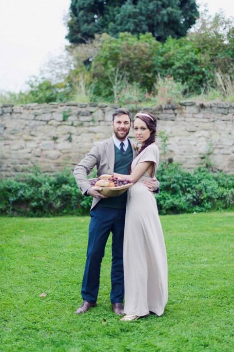 Hochzeitliche Erntefestinspiration von Theresa Furey und Tony Gigov