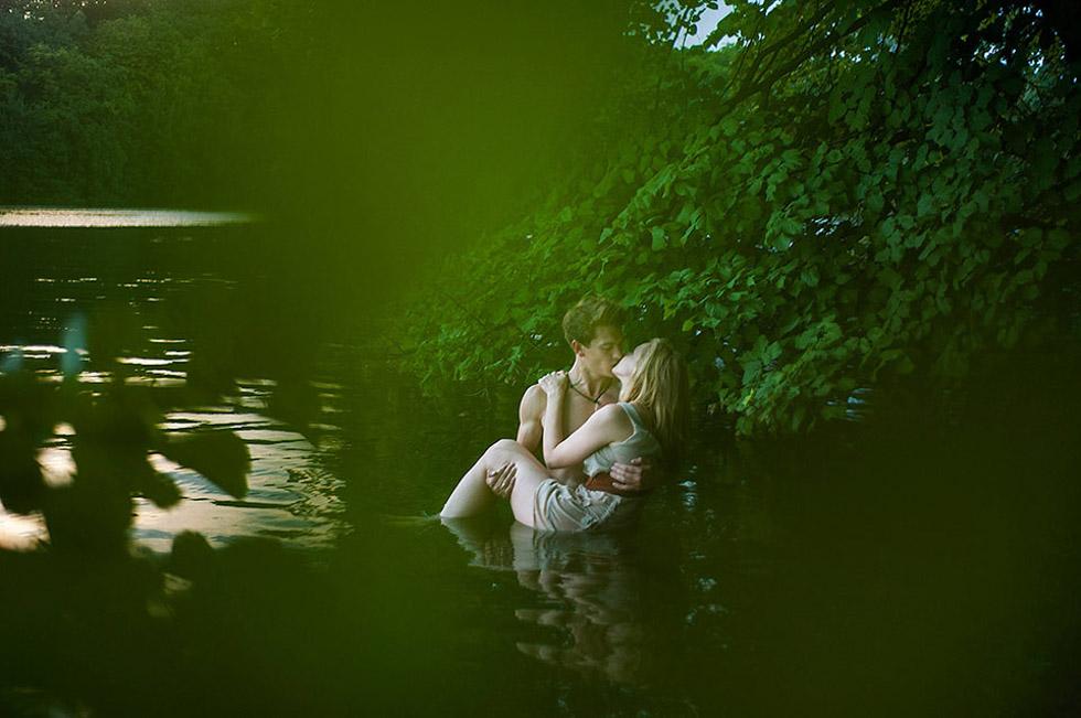 Sommerliches Verlobungsshoot in Berlin von Alina Weber Photography