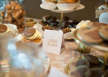 Toffee & Cream Desserttisch Inspiration auf der rhein-weiss 2013