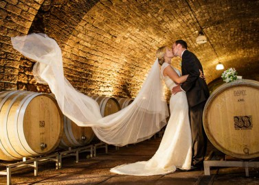 Hochzeit auf dem Weingut von Winning bei Aline Lange Fotografie