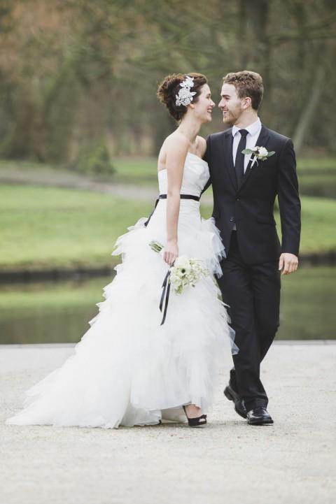 Hochzeitstrend: Schwarz & Weiss von Alexandra Vonk