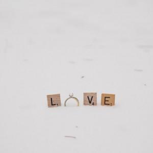 Inspirationssonntag: Verlobungsfeier im Schnee von Martina Wendland Photography