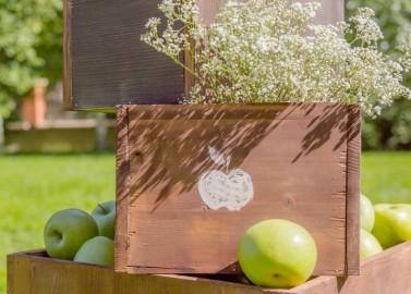 Erfrischende Apfelhochzeit von Alina Drobner