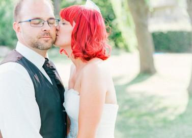 Bezaubernde Orangerie Hochzeit