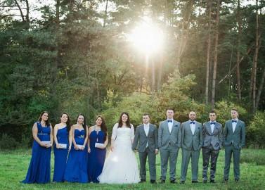 Bezauberndes Hochzeitsvergnügen in Auernhofen von Jenny Wolf Photography