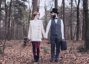 Vintage inspiriertes After-Wedding-Shooting von Alina Atzler